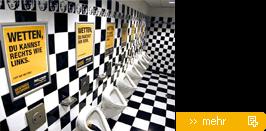 Toiletten Plakate