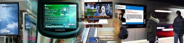 Digitales Plakat, Videoboards & LED-Screens
